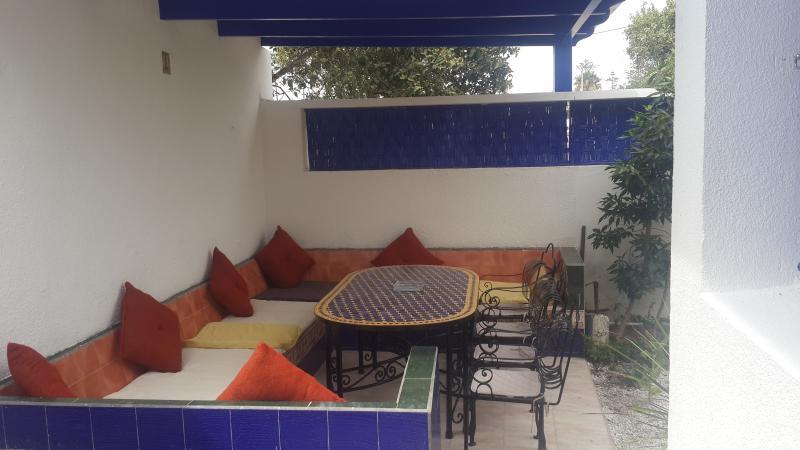 Garden sitting / Salon de jardin - Villa La lagune : The sea in a microclimate !!! - Oualidia - rentals