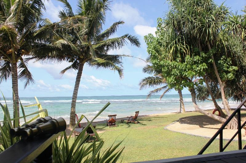 view from deck sitting areas - South Point Villa - Luxury family beach villa - Galle - rentals