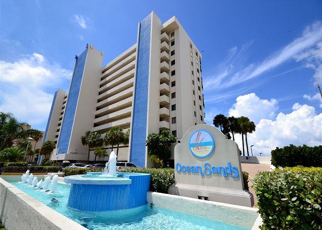 Ocean Sands 908 - 9th Floor Corner Condo with Gulf front Balcony & Free WiFi! - Image 1 - Madeira Beach - rentals