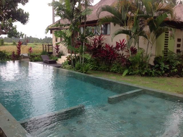 Villa Sunset and pool - Matahari Villas - Awakening into a Dream - Bali - rentals