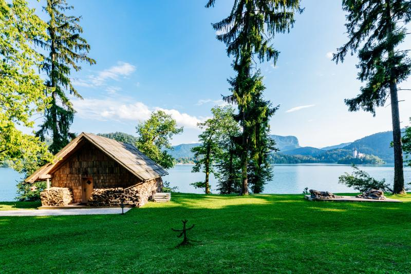 Private beach house on Lake Bled - Image 1 - Bled - rentals