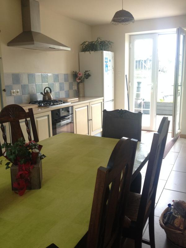 Kitchen - Self Catering Farmhouse 5kms Mortain, Normandy, - Romagny - rentals