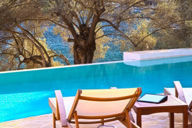 Villa Amoudia - Luxury Villa right on the beach with Private Pool - Image 1 - Sivota - rentals
