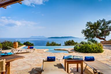 Villa Anatoli - Luxury seafront villa with private pool and jacuzzi - Image 1 - Sivota - rentals