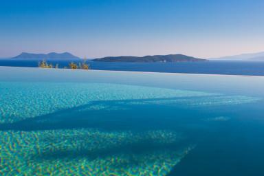 Villa Portokali - Spacius, luxury villa with endless seaview - Image 1 - Sivota - rentals