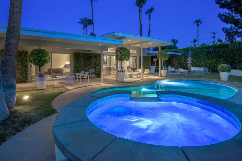 Pool & Spa At Night - 5095 - Palm Springs - rentals