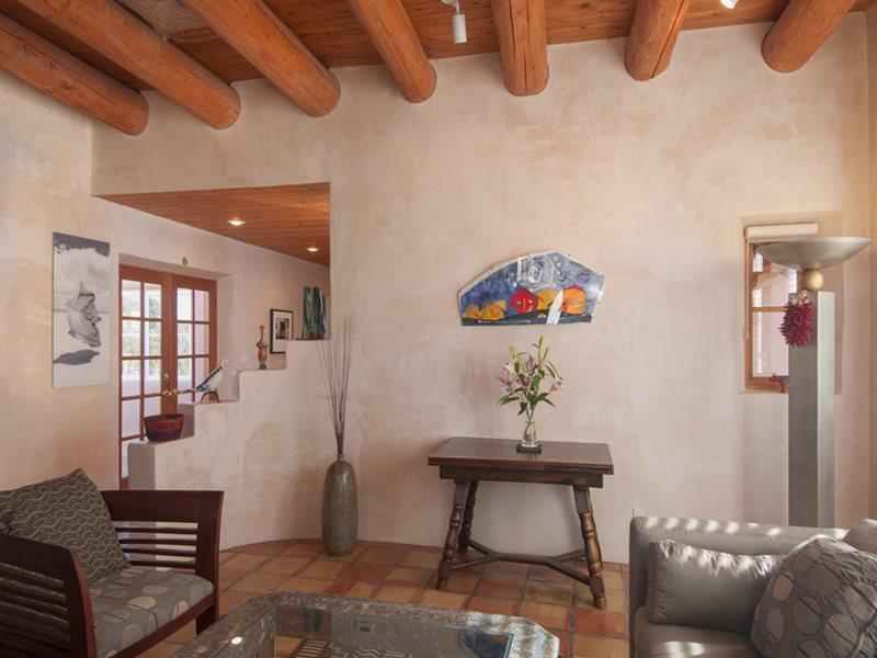 Living- Entrance - Peaceful Eastside Retreat - Santa Fe - rentals