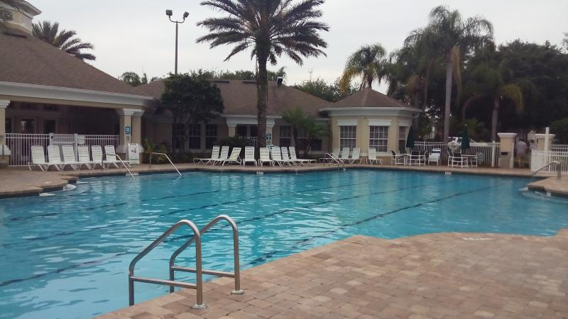 Olympic size heated pool - Premier homes at Windsor Palms Resort near Disney - Kissimmee - rentals