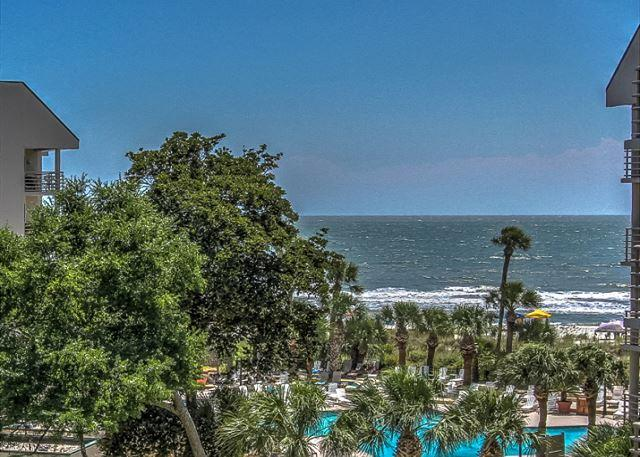 View - 3422 Villamare- 4th Floor, Oceanfront Views,  FULLY RENOVATED - Hilton Head - rentals
