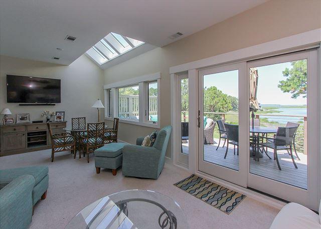Living Area - 2 Braddock Cove Club - View, Views, Views. - Sea Pines - rentals