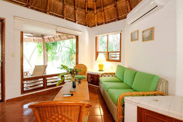Garden Suite 122.Bungalow Garden view.Fully equippment. On Downtown - Image 1 - Quintana Roo - rentals