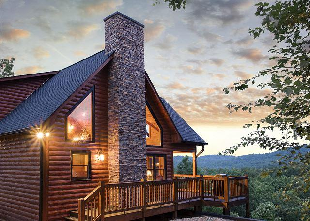 INSPIRATION RIDGE - INSPIRING VIEWS, HOT TUB, GAS GRILL, 3 MASTER SUITES WITH KING BEDS - Mineral Bluff - rentals