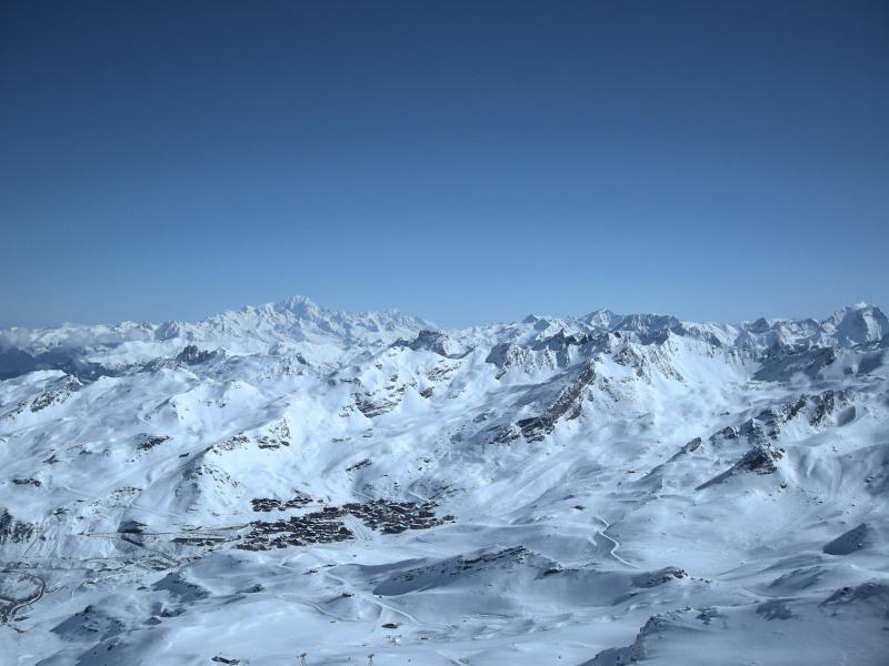Modern and central flat in the heart of Val Thorens with unobstructed mountain views - Image 1 - Val Thorens - rentals