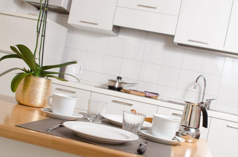 fully equipped kitchen - Affordable studio in the heart of Verona - Verona - rentals