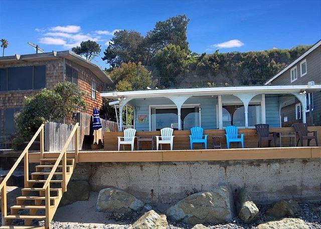 2 Decks!!  One of which is a Tanning Deck!!! - Beach Cottage - Capistrano Beach - rentals