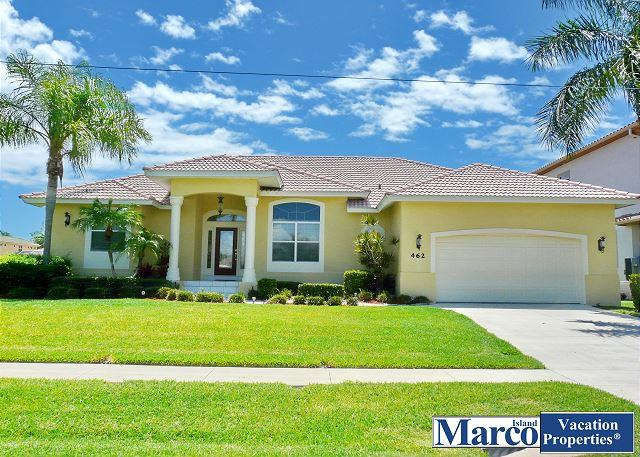 Waterfront house w/ heated pool, hot tub & western exposure for sunsets - Image 1 - Marco Island - rentals