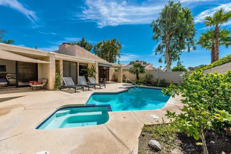 Private Backyard with Pool and Spa - Sundance Resort Three Bedroom # 937 - Palm Springs - rentals