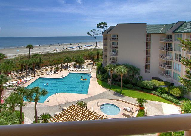 View - 1502 Villamare - Oceanfront Views and So Much More. - Hilton Head - rentals