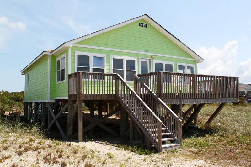Barefoot Children 4001 East Beach Drive - Image 1 - Oak Island - rentals