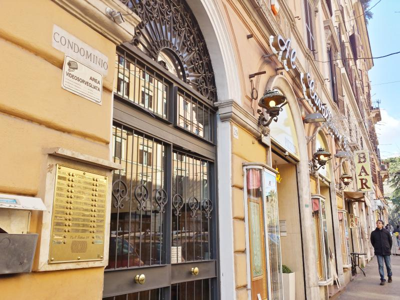 Street view - Cheap apartment near Termini. Up to 9 person - Rome - rentals