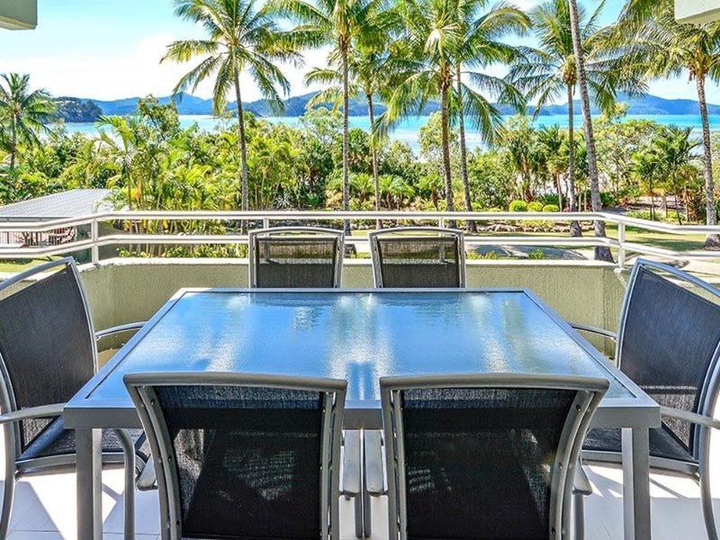 Balcony View - Hibiscus 107 - Hamilton Island - rentals