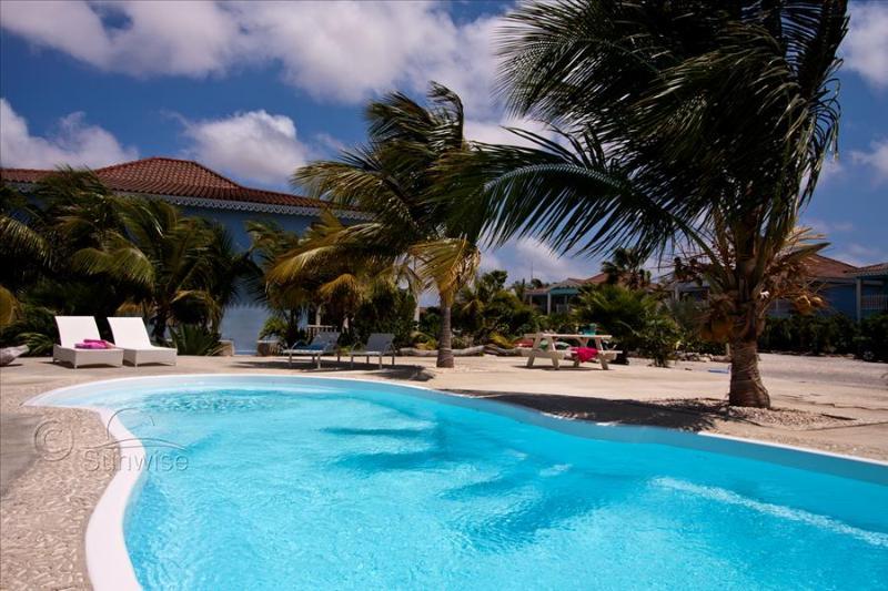 Ocean Breeze resort - Waterfront apartment Ocean Blue - Image 1 - Kralendijk - rentals