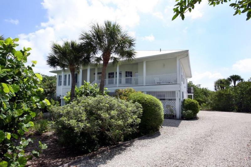 Front of Home - Heron's Landing - Sanibel Island - rentals