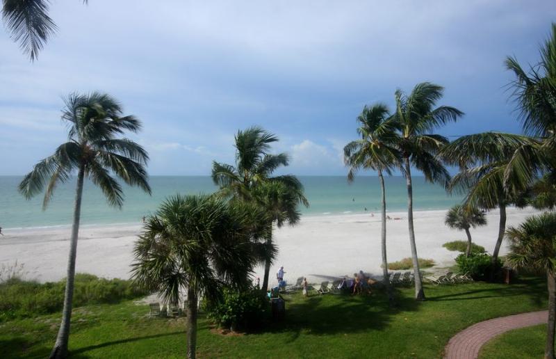 View from Unit - Pointe Santo E34 - Sanibel Island - rentals