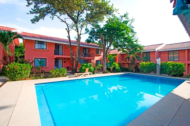 Front view of Flamenco Rosa B - Close to the beach, 2BR condo at Flamenco Rosa - Playa Ocotal - rentals