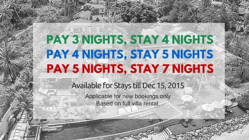 Free Nights Offer! - 3-Bedrm Pool Villa, 1 Minute's Walk to Beach - Koh Samui - rentals