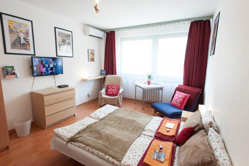 The Bedroom - Danube Promenade Apartment - Budapest - rentals