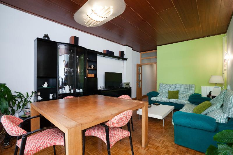 Living Room - Space, Style, Comfort for 3 Near Sagrada Familia - Barcelona - rentals