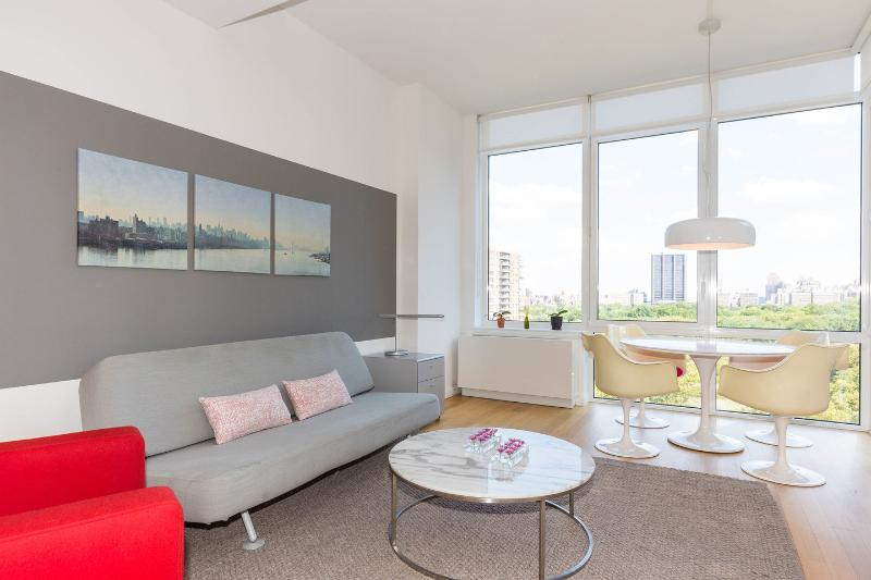 Living Room - Luxury 1Bed/1Bath Apt with Central Park Views! - New York City - rentals