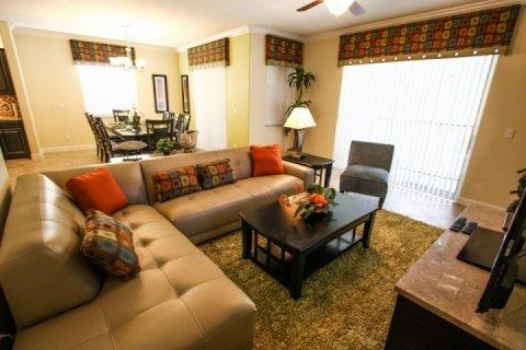 Comfortable living area - Paradise Palms Retreat in Kissimmee includes WiFi, Gym, and Jacuzzi - Kissimmee - rentals
