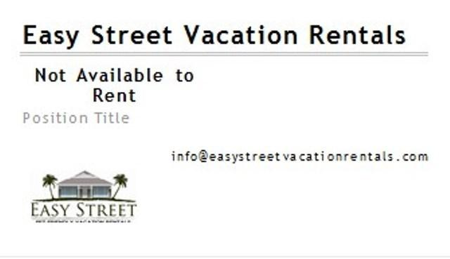 Not available for rental - Not available for Rental - Destin - rentals