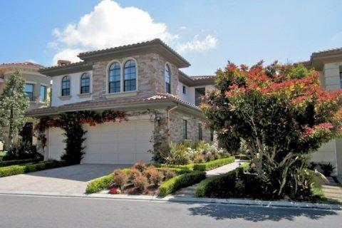 Front of home - Pointe Monarch Executive Home - Dana Point - rentals