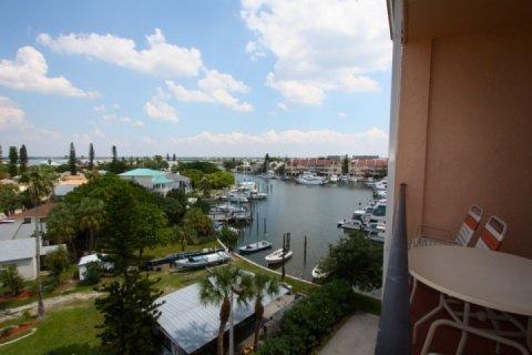 View to Boca Ceiga Bay from your private balcony - 509 - Madeira Bay Resort - Madeira Beach - rentals