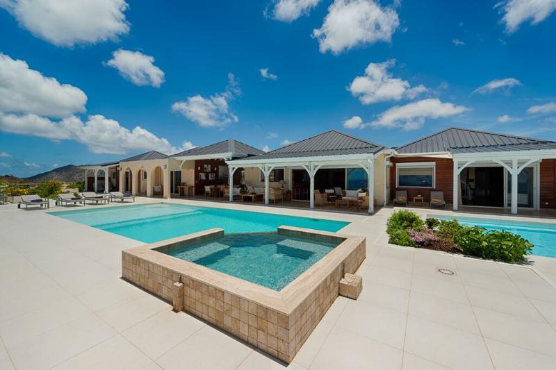 Dreamin Blue at Happy Bay, Saint Maarten - Ocean View, Pool, Walk To Beach - Image 1 - Sint Maarten - rentals