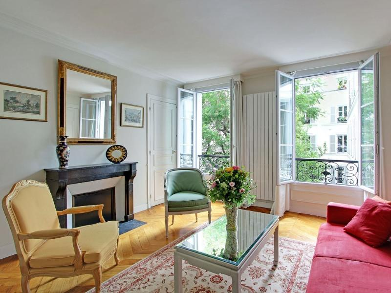 A wonderful bright living room - Garden2 - Paris - rentals