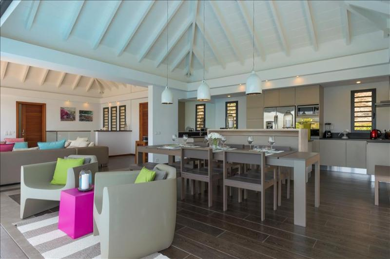 Upside at Grand Carenage, St. Barth - Ocean View, Pool, Perfect For Vacationing With Friends - Image 1 - Marigot - rentals