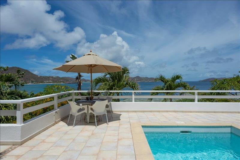 Papillon Blanc at Pointe Milou, St. Barth - Ocean View, Amazing Sunset Views, Close To Beach and Res - Image 1 - Marigot - rentals