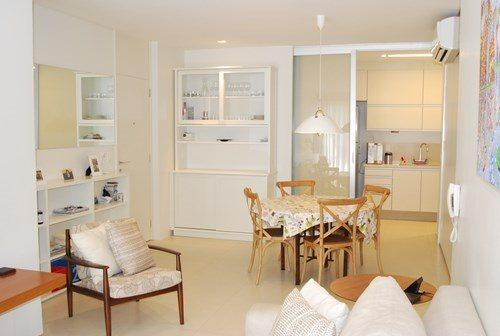 Dining Area - Modern Leblon 3 Bed 2 Bath Apartment with Spectacular View close to Shopping, Restaurants & Beach - Ipanema - rentals