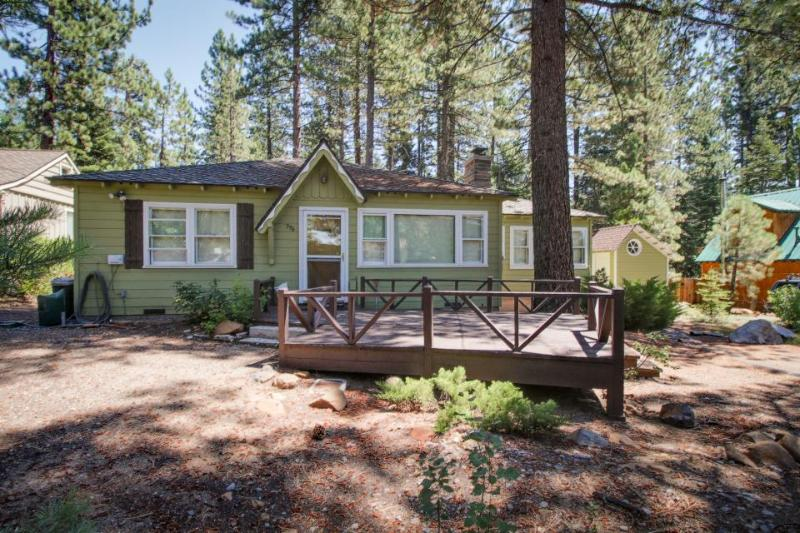 Mid-century modern cabin near town! - Image 1 - Kings Beach - rentals