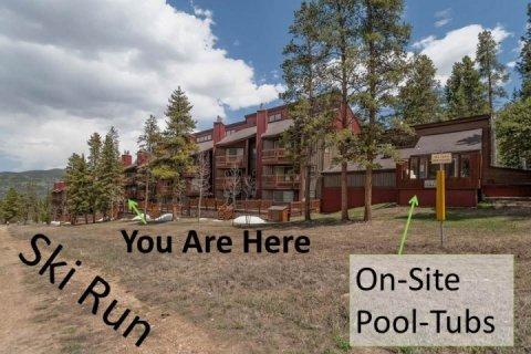 BEST location & Amenities! (on ski run, elevator, on-site pool/tubs) - Tyra Summit - Breckenridge - rentals