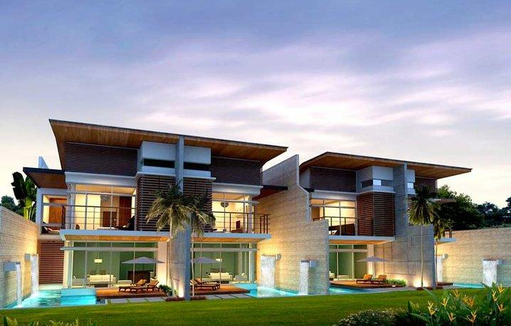 Newly built luxury house with private swimming pool. - 35B Luxury 3 br house, private sw. pool - Kamala - rentals