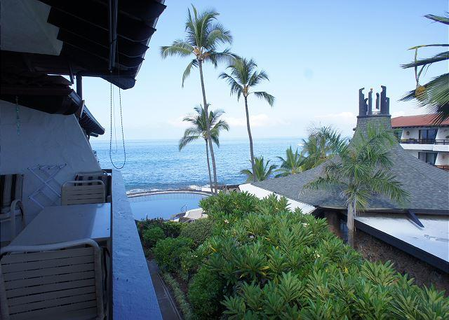 View From Lanai - Casa de Emdeko 314 -AC Included! - Kailua-Kona - rentals