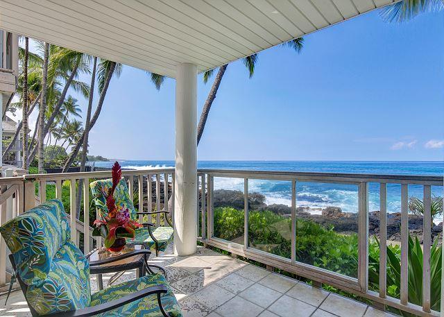 Ocean Front - Hale  Kai O Kona #7 Ocean Front Complex - Kailua-Kona - rentals