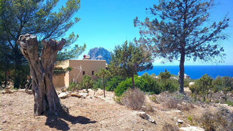 the Villa with explosive direct view on Es Vedra and the ocean, and the sunset. beach on 5 min - Exclusive Ibiza Villa with oceanview and sunset - Ibiza - rentals