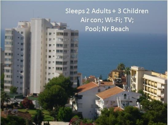 View from the side of the balcony - Superb Benalmadena Apartment. Fly and flop! - Benalmadena - rentals