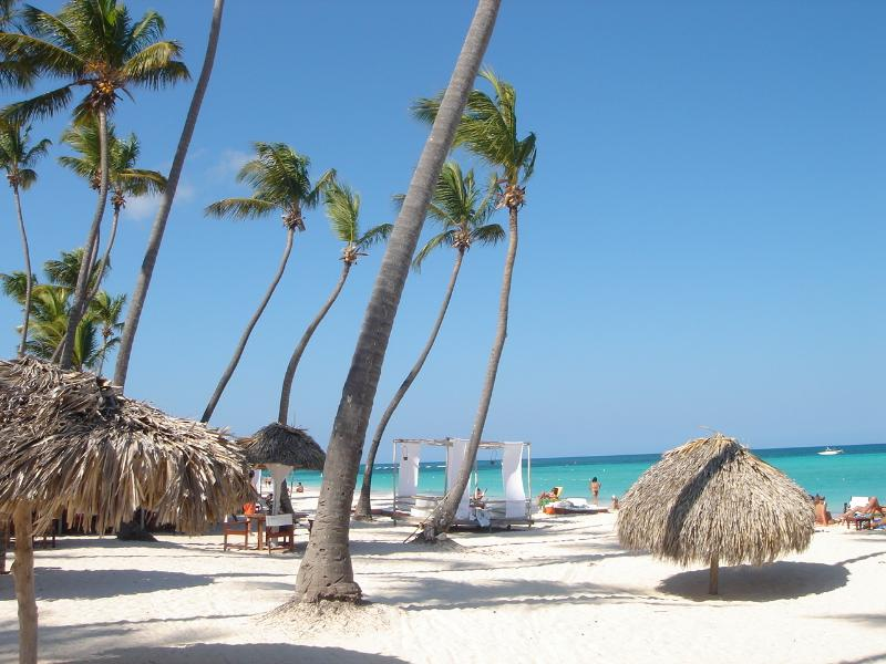 Private white sandy beach of Los Corales - Punta Cana, Los Corales, Condo right on the beach - Bavaro - rentals